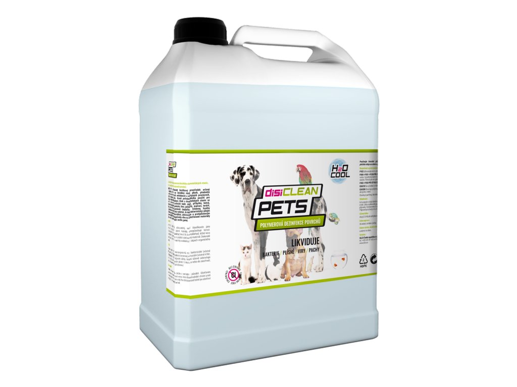 disiCLEAN PETS, 20 litrov
