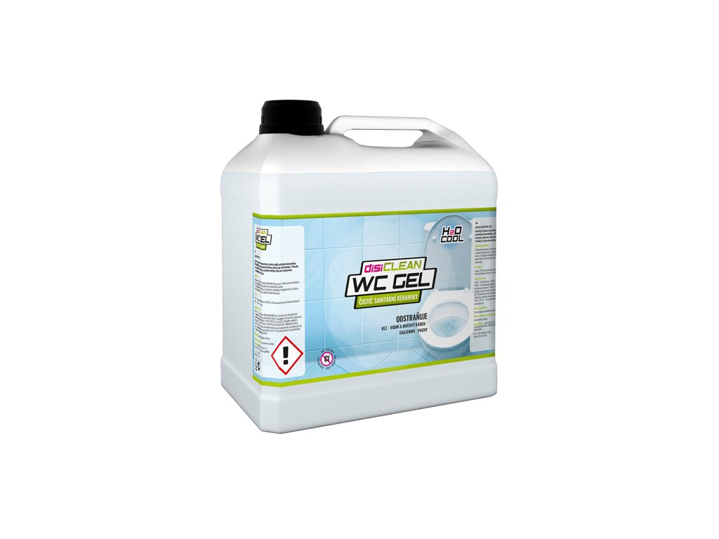 disiCLEAN WC GEL, 3 litre
